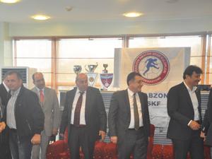 Trabzon'un spor camiası ASKF'de buluştu