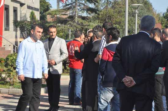 Trabzonspor'da kurban bayramlaşması gerçekleşti...