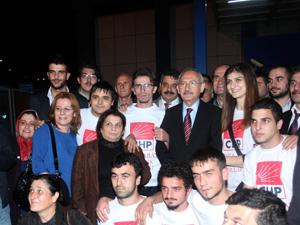 CHP Genel başkanı Trabzon'da
