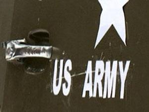 ABD'li askeri heyet incelemede bulundu.