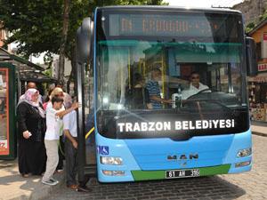 Trabzon Belediyesi'nden 30 yeni otobüs daha