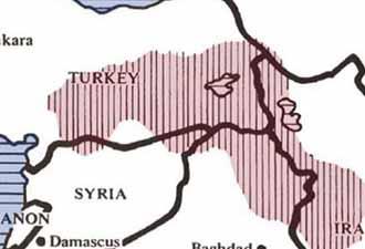 Amerika Kürt devletini çoktan kurmuş