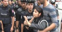 Gözaltına alınan BDP'li kadın tehdit etti