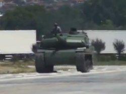 Milli tankımız test sürüşünde!