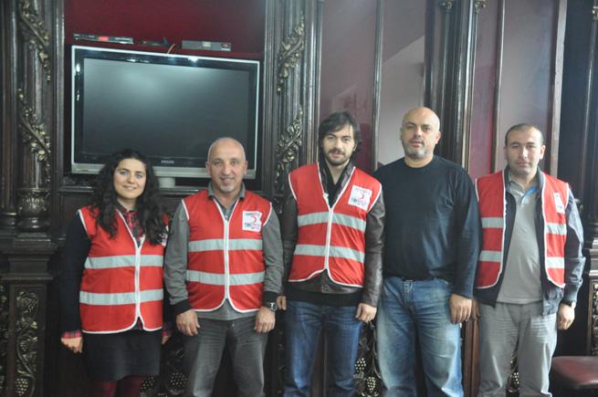 Kızılay Trabzon Gazeteciler cemiyetinde