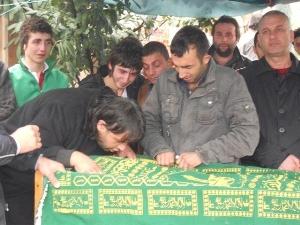 Trabzon'da genç işçi için son görev