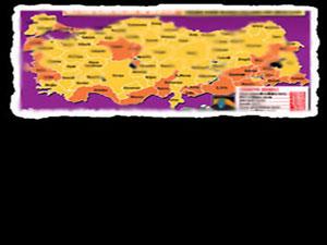 Türkiye'nin bilinmeyen haritası!