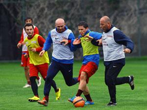 1461 Trabzon antremanları sürdürüyor