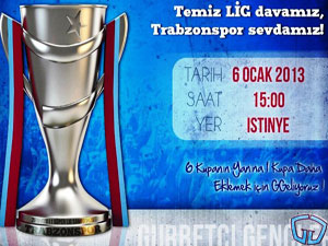 Temiz LİG davamız, Trabzonspor sevdamız
