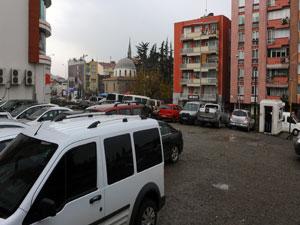 Trabzon Tanjant yolu üzerine otopark