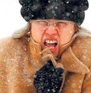 Yüzünüzü soğuktan koruyun