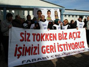 KTÜ Farabi'de eylemler sürüyor !