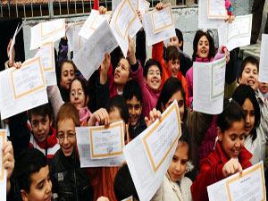 17 milyon öğrenci için karne haftası