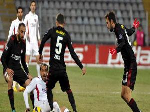 Sivasspor Gaziantepspor kozlarını paylaştı