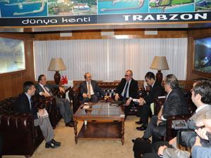 Rus İşadamı yatırım için Trabzon'a geldi