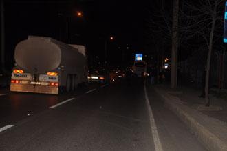 Trabzon'da dört araç kaza yaptı