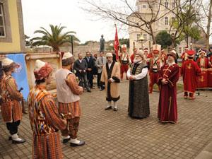Trabzon'da Osmanlı'nın yıl dönümü kutlandı