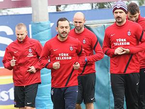 Trabzonspor'da antrenmanlar tamam
