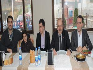 Trabzon'da Gençlik Meclisi üyeleri bir arada