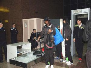 Bursaspor Kafilesi Trabzon'a Geldi