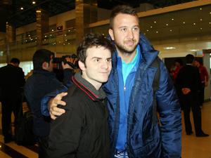 Trabzon'da Adrian ve Giray sürprizi