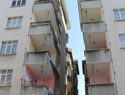 Trabzon'da riskli binalar tespit edildi