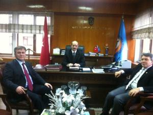 Gümüşhane Milletvekili Trabzon'da