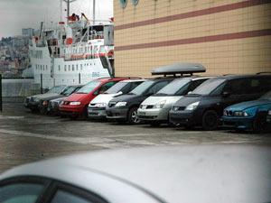 Trabzon Gümrük'te otomobil ihalesi