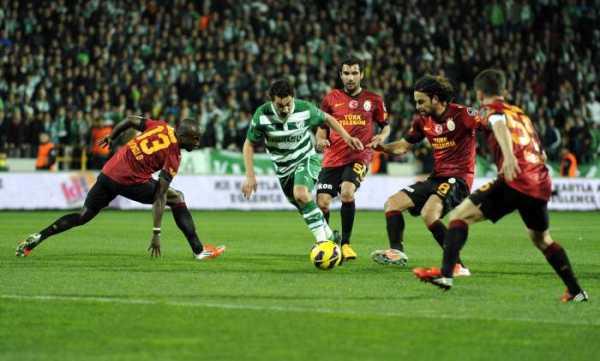 Bursaspor: 1 - Galatasaray:1