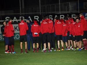 Trabzonsporlu futbolculara izin