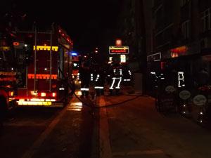 Trabzon Araklı'da yangın
