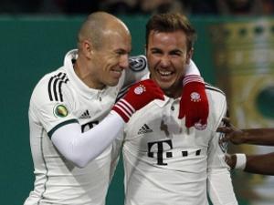 Bayern kazandı ama Robben'e ağladı!