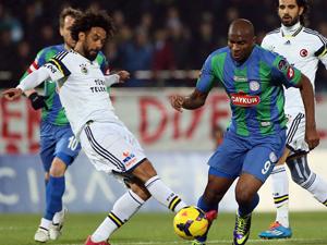 Fenerbahçe Rize'yi mağlup etti
