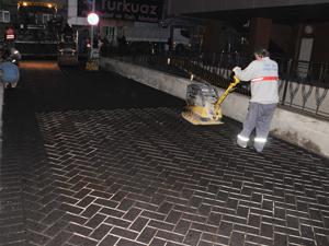 Trabzon'da asfaltlamada yeni yöntem