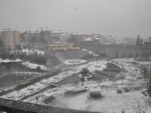 Trabzon'dan kar manzaraları