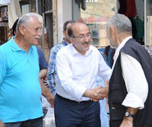 Gümrükçüoğlu mahalle ziyaretlerinde