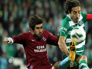 Trabzonspor ile Bursaspor 75. randevuda