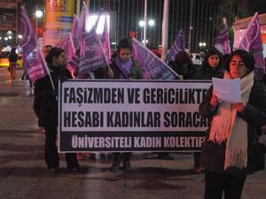 Trabzon'da ki öğrenci için Ankara'da eylem!