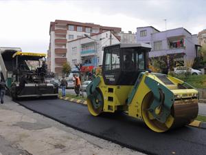 Trabzon'da asfalt hedefi tamam!
