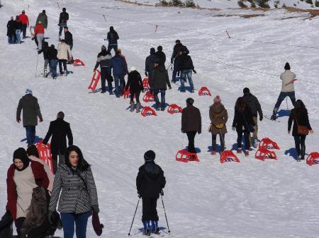 Zigana'da kar şenliği