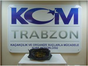Trabzon'da operasyon: Oyuncak ayıdan bakın ne çıktı!
