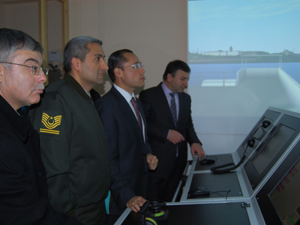 Trabzon'da denizcilere son teknoloji simülatör