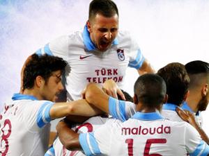 Trabzonspor evinde kaybetmiyor !