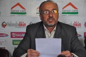 Trabzon'da Mazlumder'den darbe açıklaması
