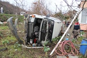 Cenaze dönüşü trafik kazası