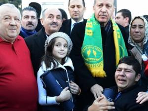 Başbakan Erdoğan, sözünü unutmadı