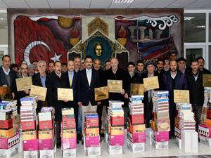 Kelkit'te 15 köye kütüphane kuruldu