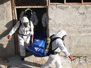 Kimyasal madde değil ceset taşıdılar