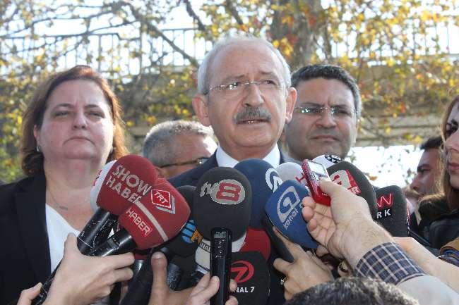 Kılıçdaroğlu Zekeriya Öz'e sahip çıktı