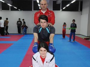 Samsun'da aile boyu kick boks...